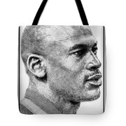Michael Jordan In 1990 Tote Bag