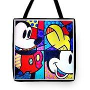 Mickey Colors Tote Bag