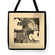 Mickey In Sepia Tote Bag