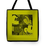 Mickey In Yellow Tote Bag