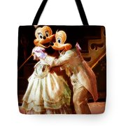 Micky And Minnie Mouse Skate Tote Bag