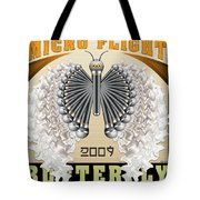 Micro Flight Butterfly Tote Bag