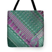 Micrograph Of Chip Tote Bag