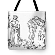 Middle Ages: Knighting Tote Bag