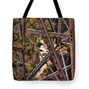 Midgley Bridge Oak Creek Canyon Tote Bag