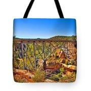 Midgley Bridge Sedona Arizona Tote Bag