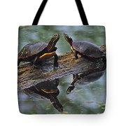 Midland Painted Turtles Tote Bag