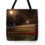 Midnight In Mayfair Tote Bag