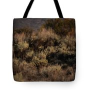 Midnight Sage Brush Tote Bag