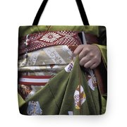 Midsection Of Apprentice Geisha - Maiko Tote Bag