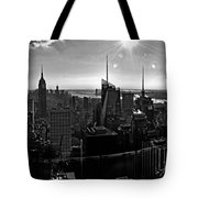 Midtown South Bw Tote Bag