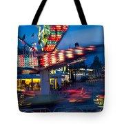 Midway Blur Tote Bag