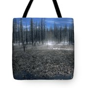 Midway Geyser Area Tote Bag