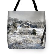 Midwestern Ice Storm - D004825 Tote Bag
