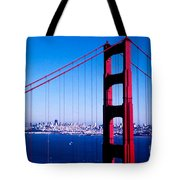 Mighty Golden Gate Tote Bag