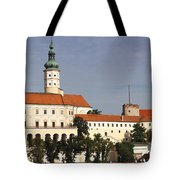 Mikulov Castle Tote Bag