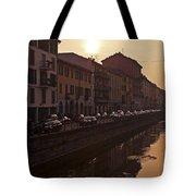Milan Naviglio Grande Tote Bag