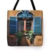 Milano Apartment Window Tote Bag