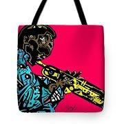 Miles Davis Full Color Tote Bag