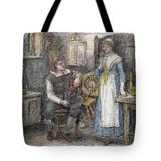 Miles Standish Tote Bag