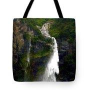 Milford Sound Waterfall Tote Bag