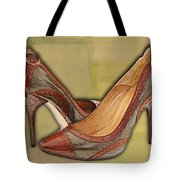 Military Camouflage Stilettos With Tassels Tote Bag