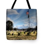 Military Honors Tote Bag