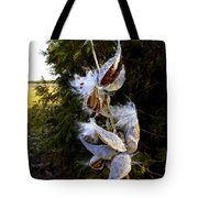 Milkweed Breeze Tote Bag
