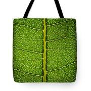 Milkweed Leaf Tote Bag by Steve Gadomski