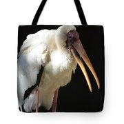 Milky Stork Tote Bag
