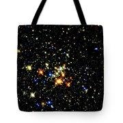Milky Way Star Cluster Tote Bag