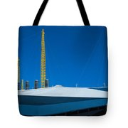 Millennium Dome Abstract Tote Bag