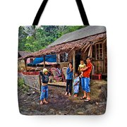 Minahasa Traditional Home 3 Tote Bag