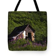 Miners Cabin Tote Bag