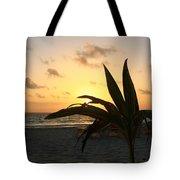 Mini Palm Hugging The Sun Tote Bag