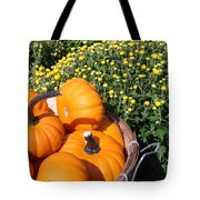 Mini Pumpkins Tote Bag by Kimberly Perry