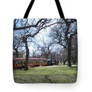 Mini Train Ride Tote Bag