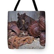 Mining Drill Bit Tote Bag