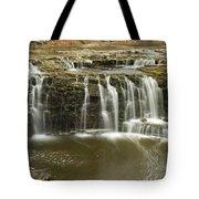 Minneopa Upper Falls 18 Tote Bag