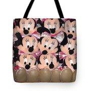 Minnie Mouse On A Shelf 2 Tote Bag