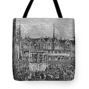Miracle Play, 15th Century Tote Bag