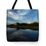 Mirror At Theshore Tote Bag