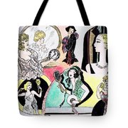 Mirror Ladies Tote Bag