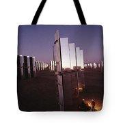 Mirror-winged Solar Panels Convert Tote Bag