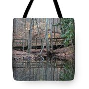 Mirrored Bridge Tote Bag