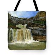 Mirusha Falls In Kosovo Tote Bag