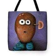 Misfit Potato Head 3 Tote Bag