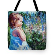 Miss Busy Bee Tote Bag