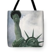 Miss Statue Of Liberty Tote Bag
