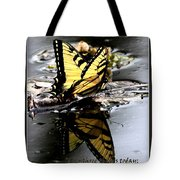 Missing You - Butterfly Tote Bag